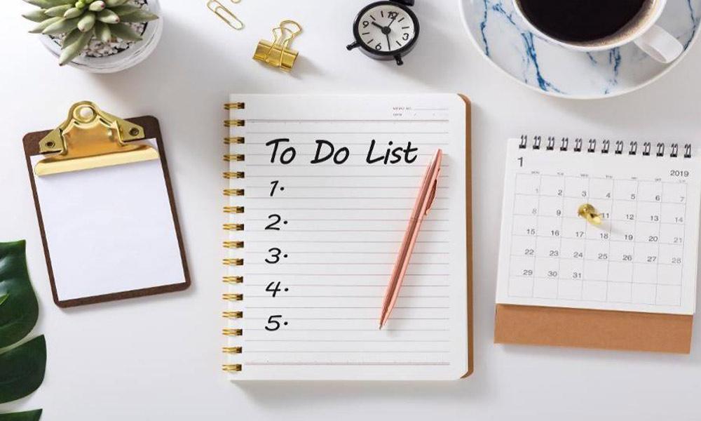 از شب قبل برنامه خود را برنامه ریزی کنید.