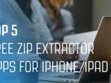 معرفی بهترین نرم افزار های Zip برای گوشی های آیفون