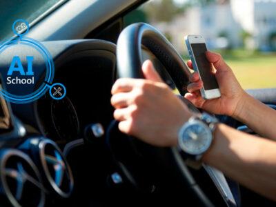 هوش مصنوعی رانندگان گوشی به دست پشت فرمان را شناسایی می کند