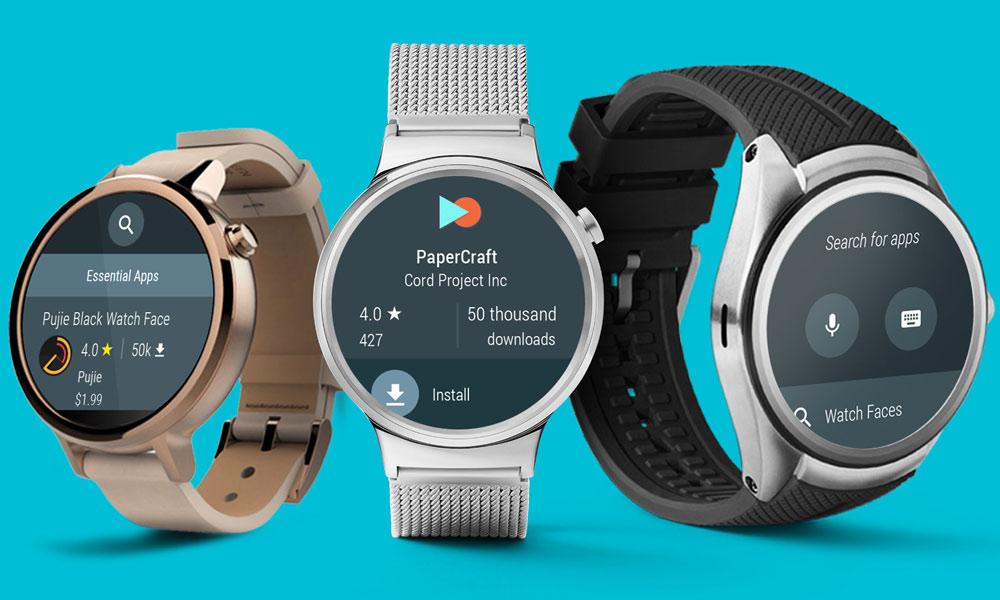 انتخاب بهترین نرم افزار های Android Wear