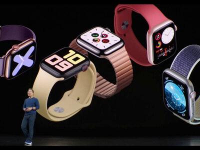 رونمایی محصولات اپل در سال 2019، اپل واچ جدید در کنار سه گوشی هوشمند قدرتمند