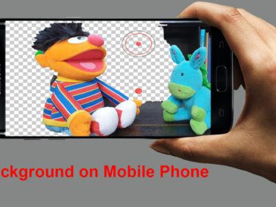 چطور حذف بک گراند عکس را روی گوشی مان انجام دهیم؟