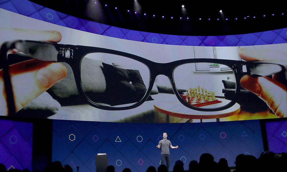 عینک ری بن هوشمند روی چشم فیس بوک!