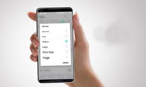 نحوه تنظیم اندازه فونت در مرورگر گوشی های اندروید