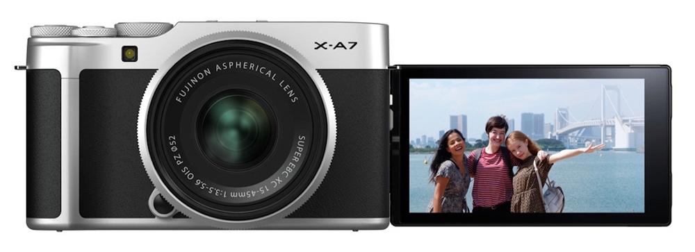 ویژگی های دوربین X-A7 فوجی فیلم