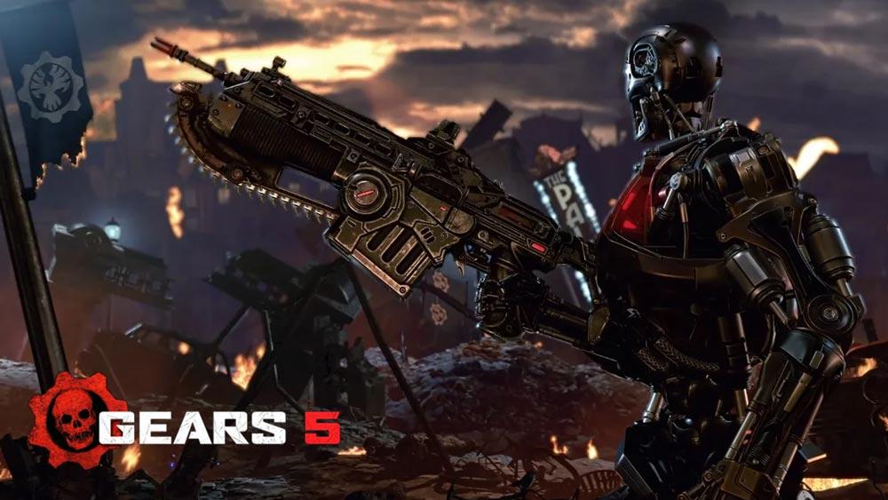 بازی Gears 5 یکی از بازی هایی است که به تازگی یعنی تاریخ 10 سپتامبر 2019 رونمایی و عرضه شده است.