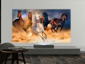 ال جی از ویدئو پروژکتور 4K CineBeam جدید خود رونمایی کرد