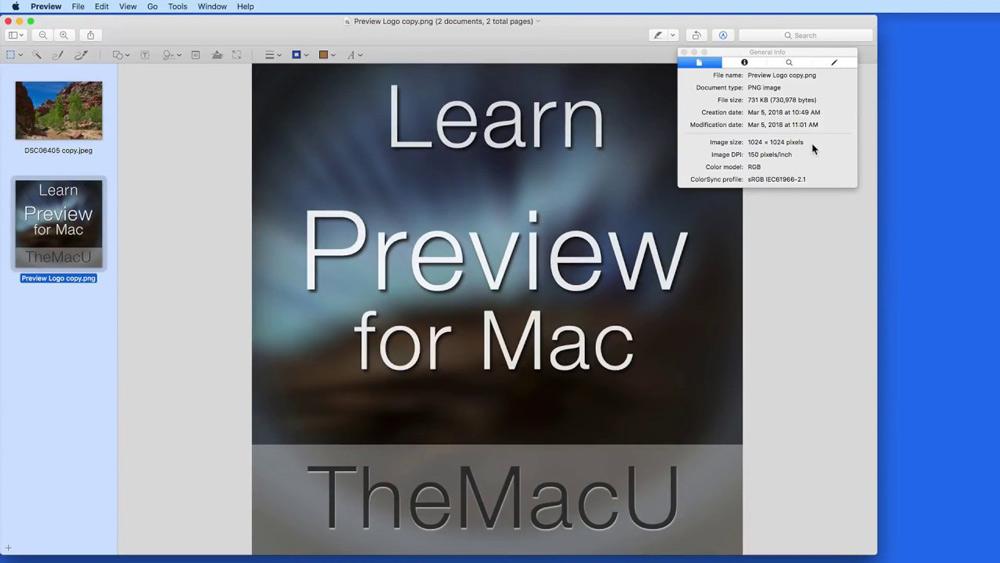 نرم افزار Preview به صورت پیش فرض در سیستم عامل macOS در اختیار شما قرار می گیرد