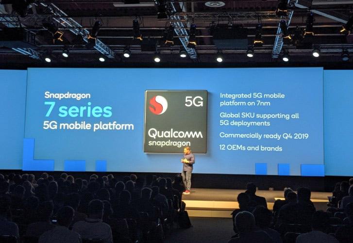 پردازنده های سری 6 و 7 کوالکام با پشتیبانی از اینترنت 5G