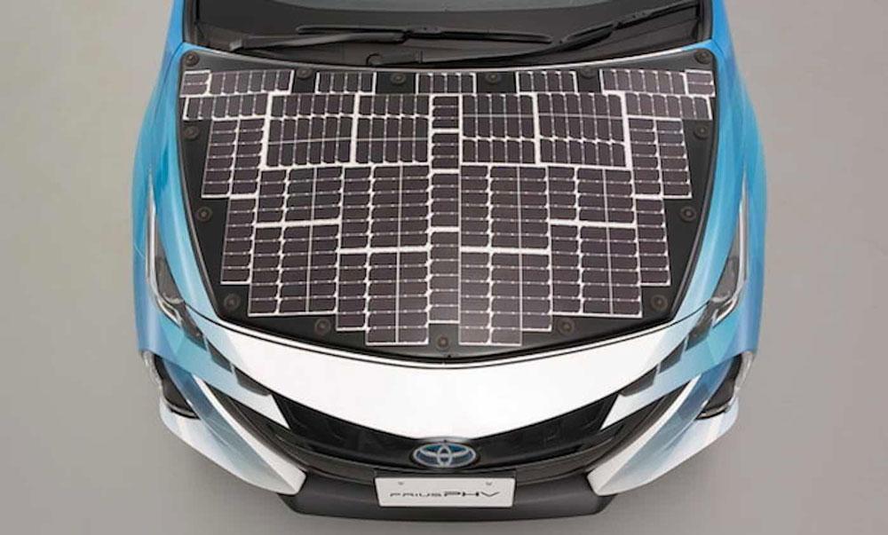 نوآوری جدید تویوتا در خودروهای خورشیدی