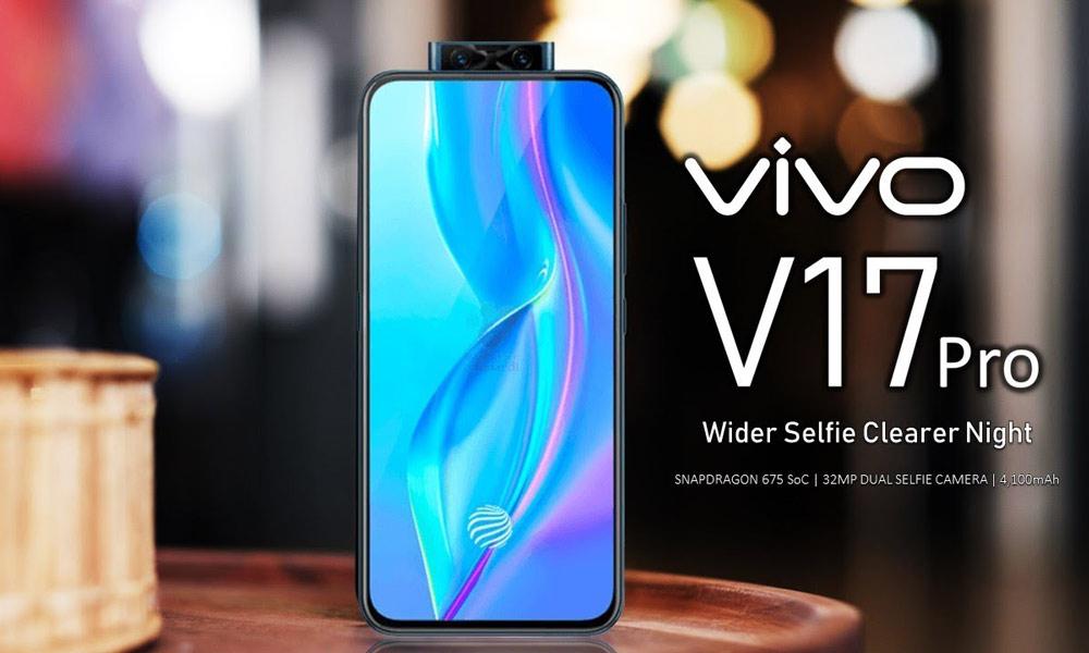 گوشی vivo V17 Pro رونمایی شد، پردازنده اسنپدراگون 675 با دوربین پاپ آپ دوگانه