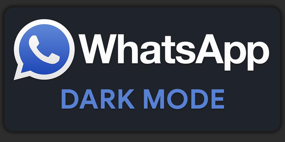 نحوه فعالسازی حالت تاریک واتس آپ دسکتاپ