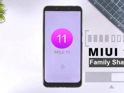 قابلیت Family Sharing در رابط کاربری MIUI 11 شیائومی در اختیار کاربران قرار می گیرد