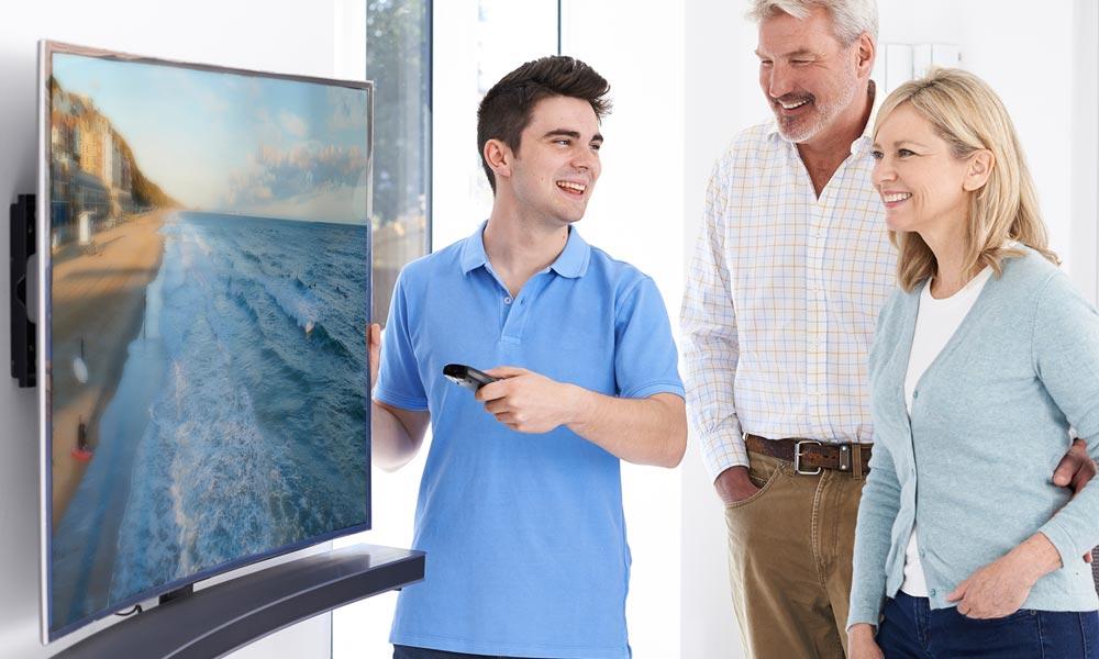 نگاهی به محدودیت ها و معایب تلویزیون های منحنی