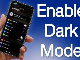 نحوه فعال کردن حالت تاریک درiOS به چه صورت است؟