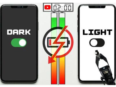 حالت تاریک در آیفون OLED، عمر باتری را 30 درصد زیادتر میکند.