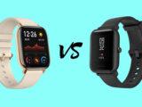 مقایسه ساعت هوشمند Amazfit BIP و Amazfit GTS