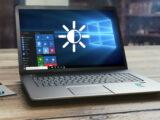 حل مشکل کم یا زیاد شدن نور لپ تاپ