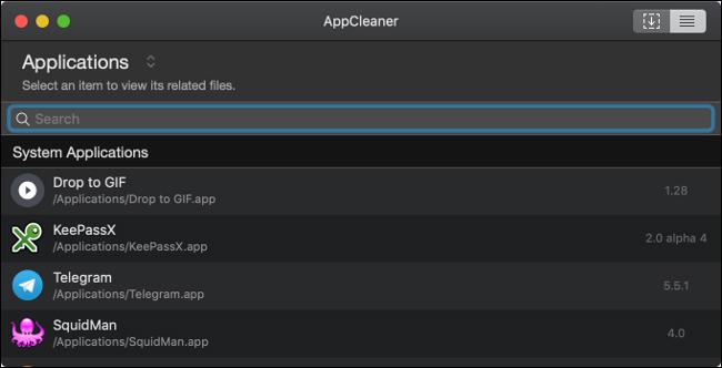 AppCleaner: برنامه ها را حذف کرده و فضای را بازیابی می کند