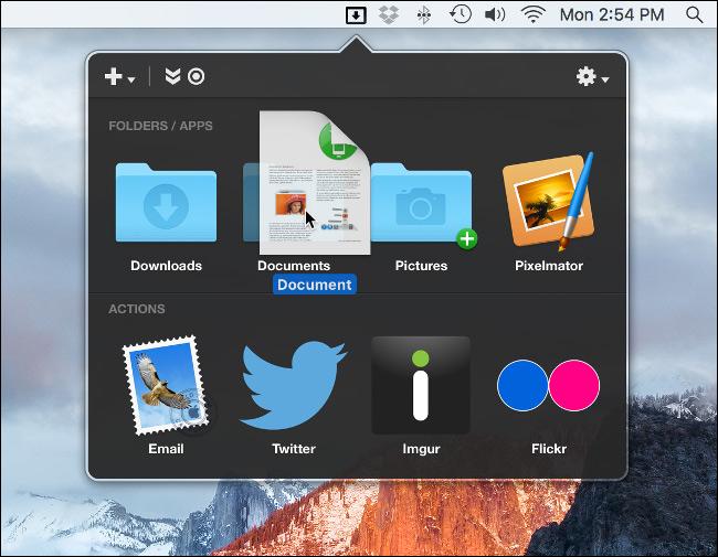 Dropzone: سرعت بخشیدن به اقدامات مرتبط با فایل ها