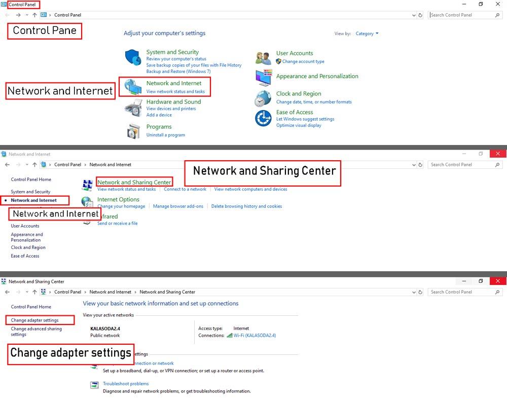 تنظیم آی پی ثابت شبکه برای استفاده از ریموت دسکتاپ ویندوز