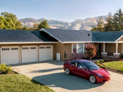 نصب سقف خورشیدی جدید تسلا آسان است
