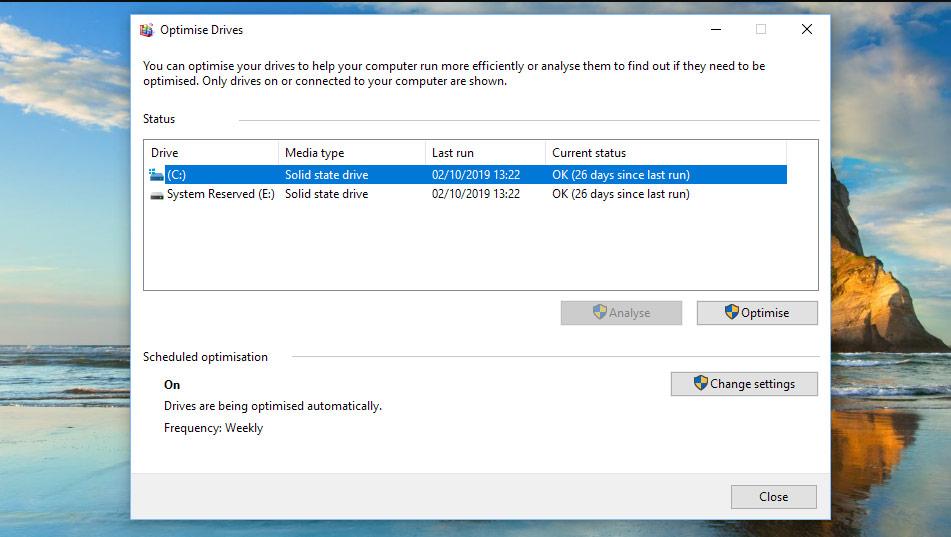 پاکسازی ویندوز با Disk clean up