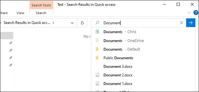 جستجوی آنلاین در File Explorer
