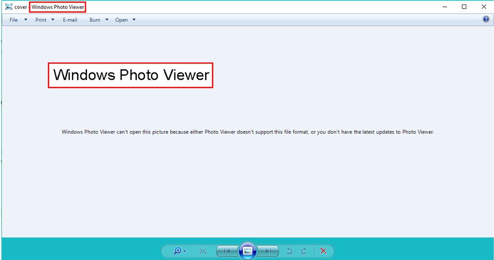 چگونه مشکل باز نشدن عکس در ویندوز 10 را حل کنیم؟