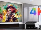 آشنایی با بهترین ویدئو پروژکتورهای 4K که می توانید خریداری کنید