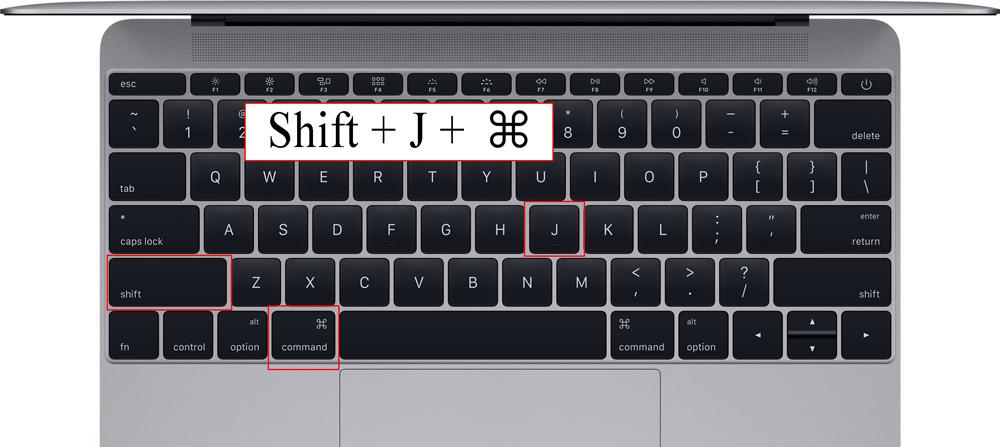 بارگیری ها را در برگه جدید باز کنید: ⌘ + Shift + J