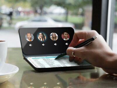 تاریخچه موبایل، تبلت و لپتاپهایی با صفحهنمایش دوگانه