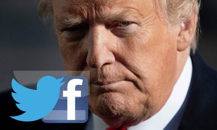 انتشار خبرهای دروغ رئیسجمهور ترامپ در فیسبوک و توییتر
