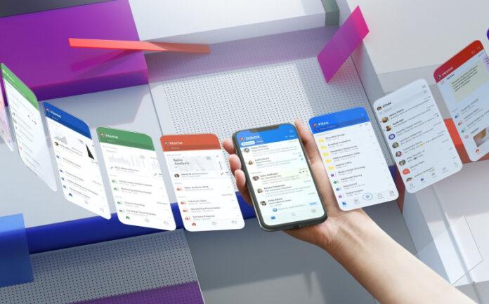گوش دادن به ایمیل در نسخه جدید آفیس مایکروسافت روی موبایل