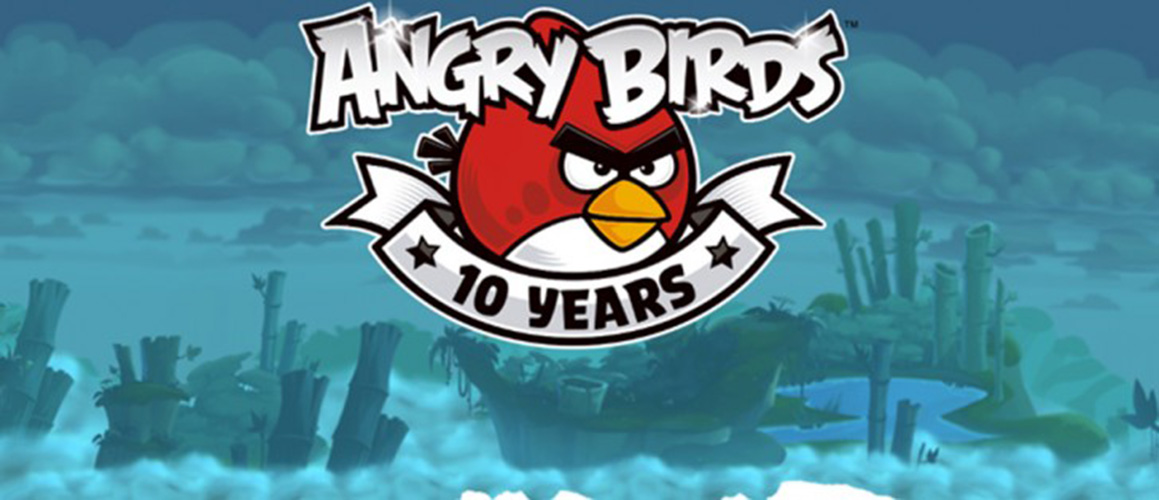 پرندگان خشمگین 10 ساله شدند