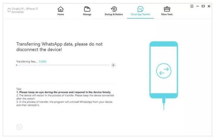 چگونه پیام های واتساپ را از اندروید به آیفون منتقل کنیم؟