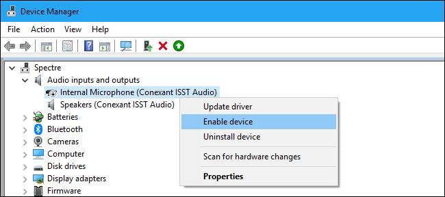 آموزش برطرف کردن کارنکردن میکروفون در ویندوز Windows 10