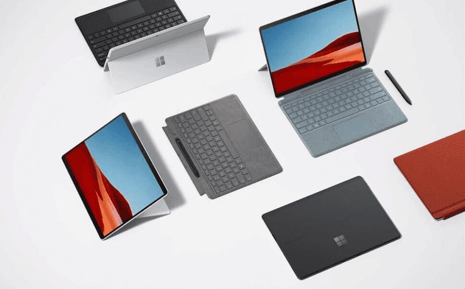 مایکروسافت ازتبلت لپتاپسرفیس پرو Surface Pro X رونمایی کرد