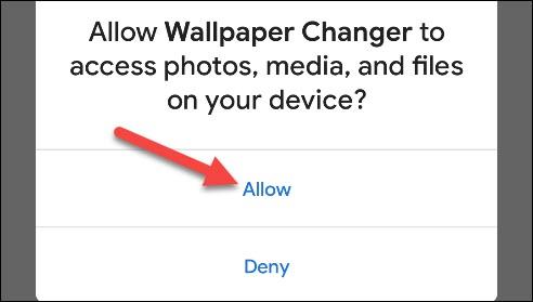 تغییر تصویر پس زمینه گوشی اندروید، هوشمند