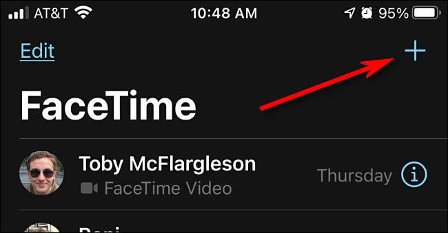 برقراری تماس صوتی با اپلیکیشن facetime