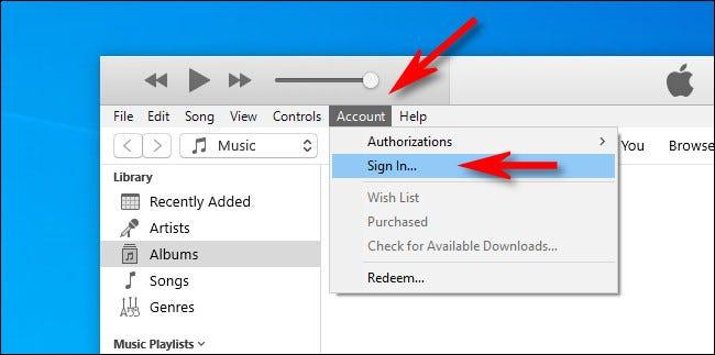 استفاده از Apple Music روی ویندوز 10