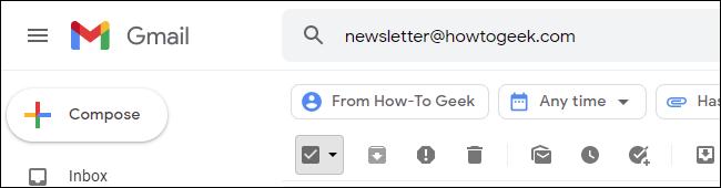 پاک کردن ایمیل های مزاحم