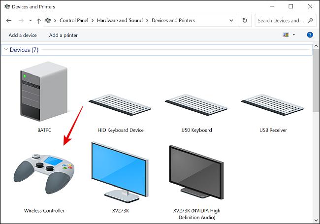 اتصال کنترلر PS5 به ویندوز 10