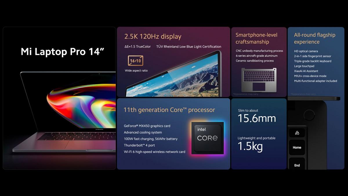 لپ تاپ Mi Laptop Pro 15