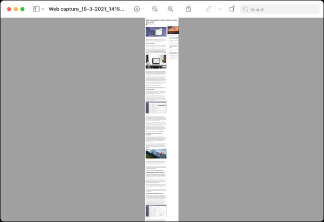 اسکرین شات از صفحه microsoft edge