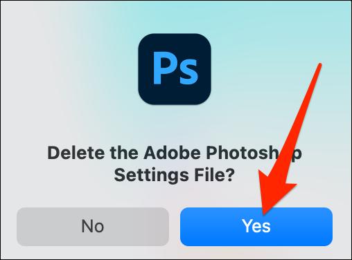 ریست کردن تنظیمات Adobe Photoshop