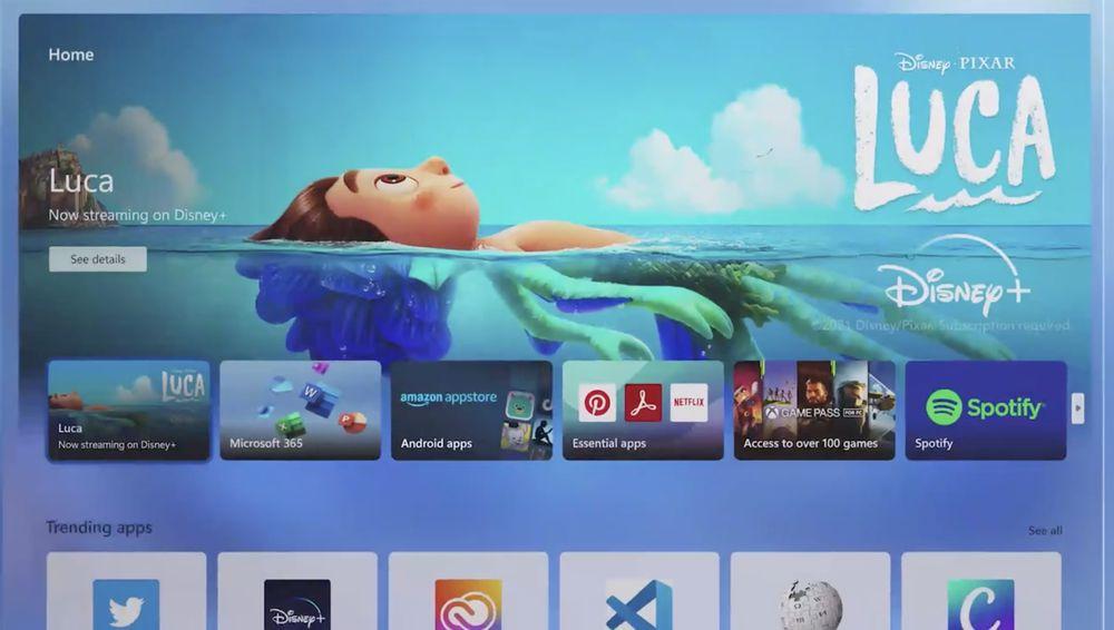 منوی جدید استارت ویندوز Windows 11